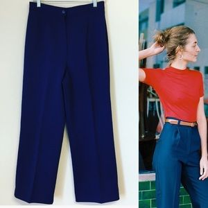 Vintage 70s High Waisted Pants